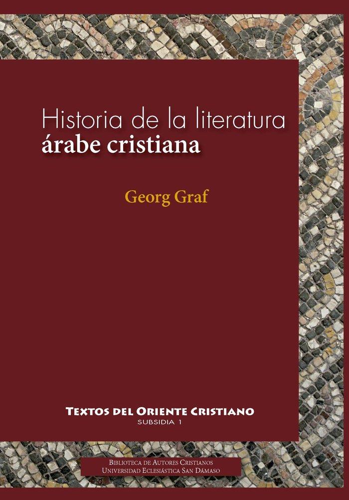 Historia literatura arabe cristiana
