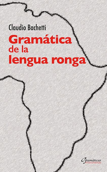 Gramatica de la lengua ronga