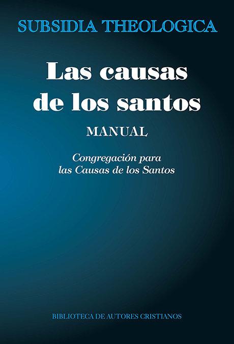 Causas de los santos manual,las