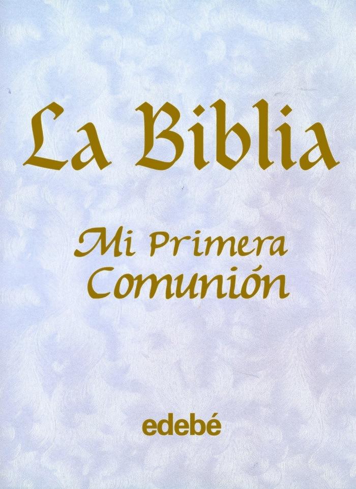 Biblia mi primera comunion portada nacarada