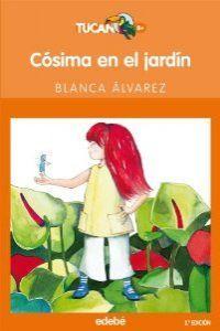 Cosima en el jardin tucan naranja