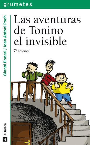 Aventuras de tonino el invisible 2ªed 10 años