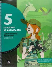 Cuaderno conocimiento medio 5ºep madrid 09 tren