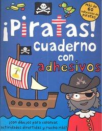 Piratas cuaderno con adhesivos