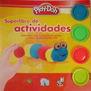 Superlibro de actividades play doh