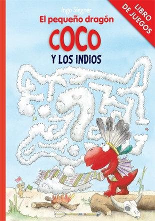 Pequeño dragon coco y los indios libro de juegos