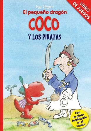 Pequeño dragon coco y los piratas libro de juegos