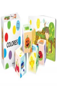 Colores (libro cubo)
