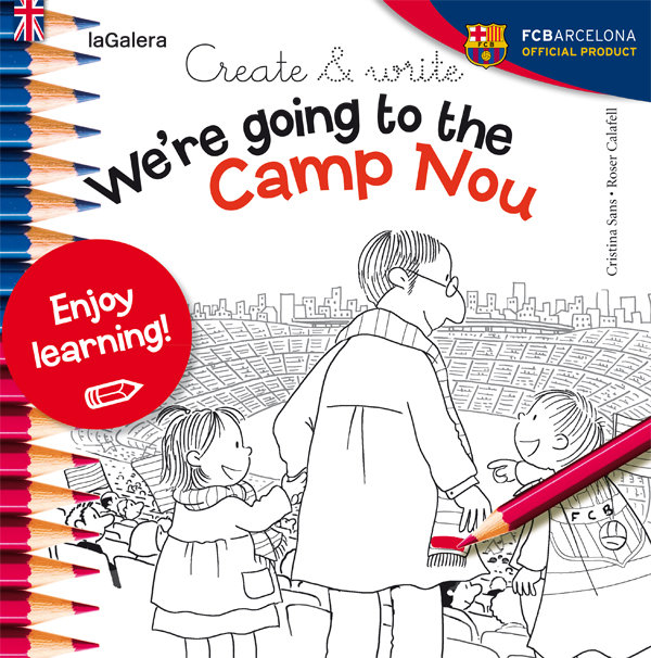 Create write we re going to the camp nou