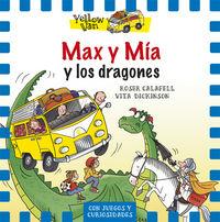 Yellow van 3 max y mia y los dragones