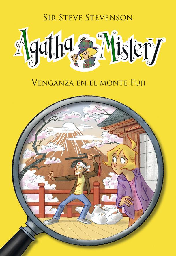 Agatha mistery 24 la venganza en el monte fuji