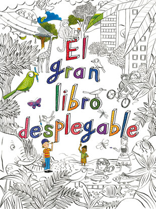 Gran libro desplegable,el