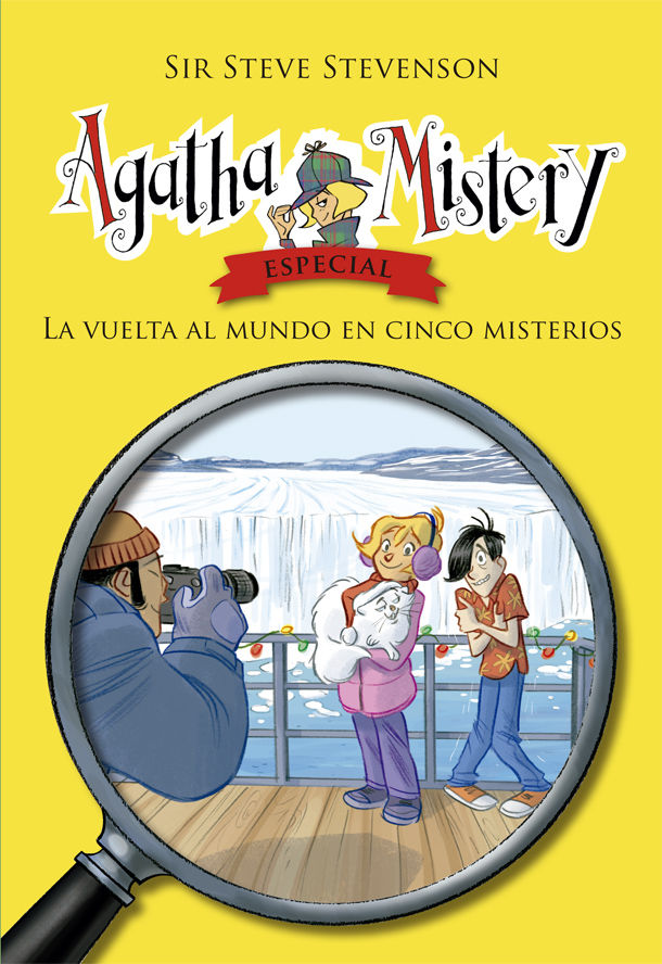 Agatha mistery especial vuelta al mundo en cinco misterios