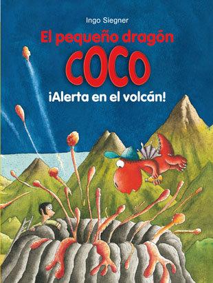 Pequeño dragon coco 22 alerta en el volcan