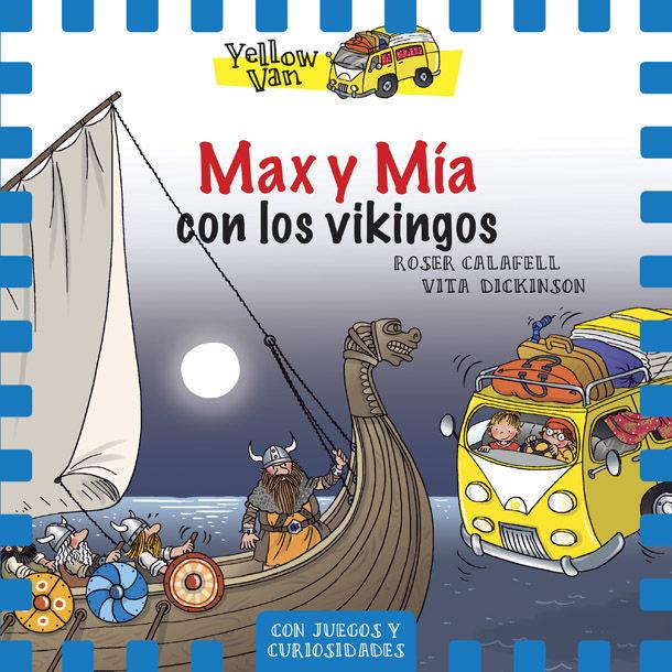 Yellow van 9 max y mia y los vikingos