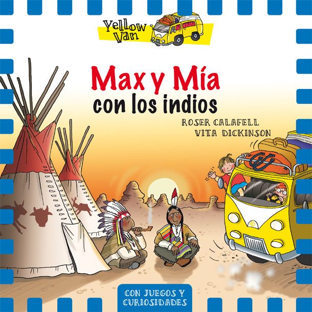 Yellow van 10 max y mia con los indios
