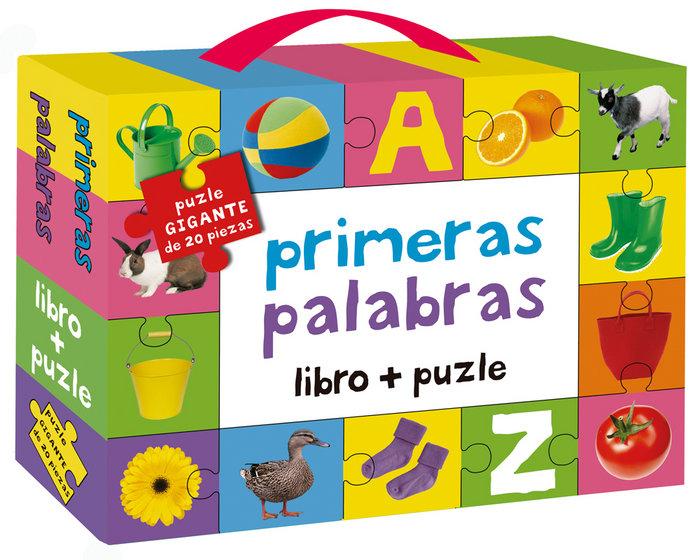Primeras palabras libro y puzle