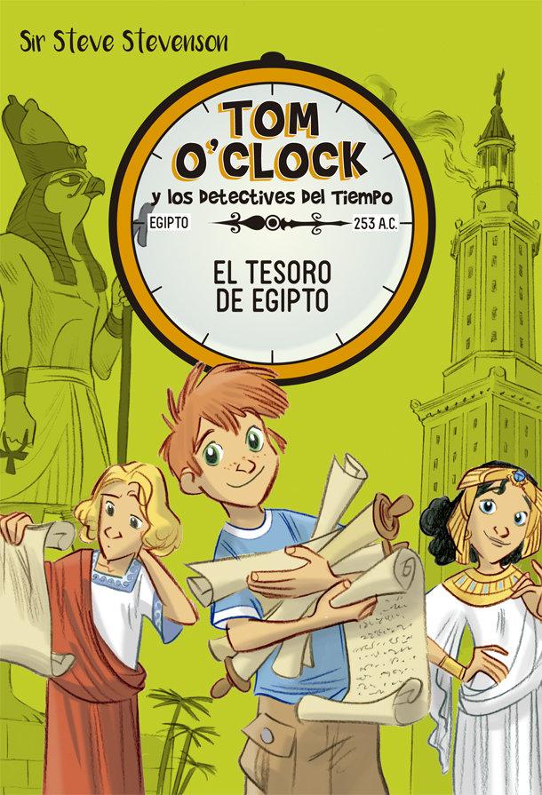 Tom o clock 5 el tesoro de egipto