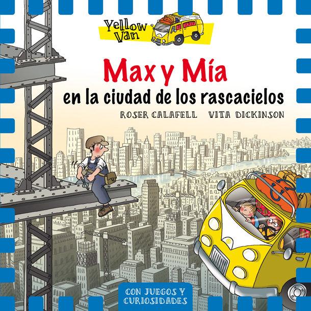 Yellow van 11 max y mia en la ciudad de l