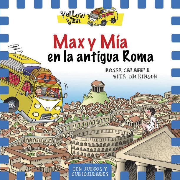 Yellow van 12 max y mia en la antigua roma