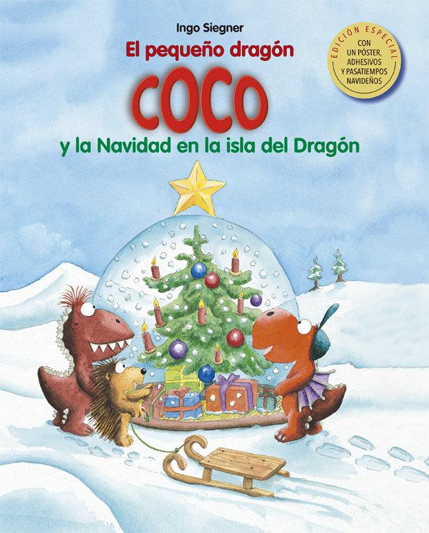 Pequeño dragon coco y la navidad en la isla del dragon