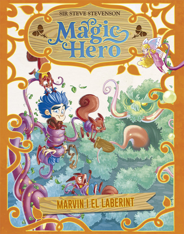 Magic hero 5 marvin i el laberint