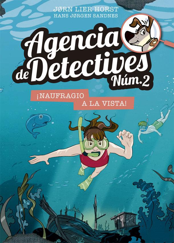 Agencia de detectives num. 2- 13. naufragio a la vista