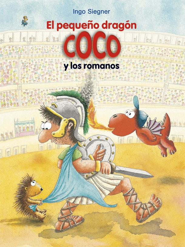 El pequeño dragon coco y los romanos