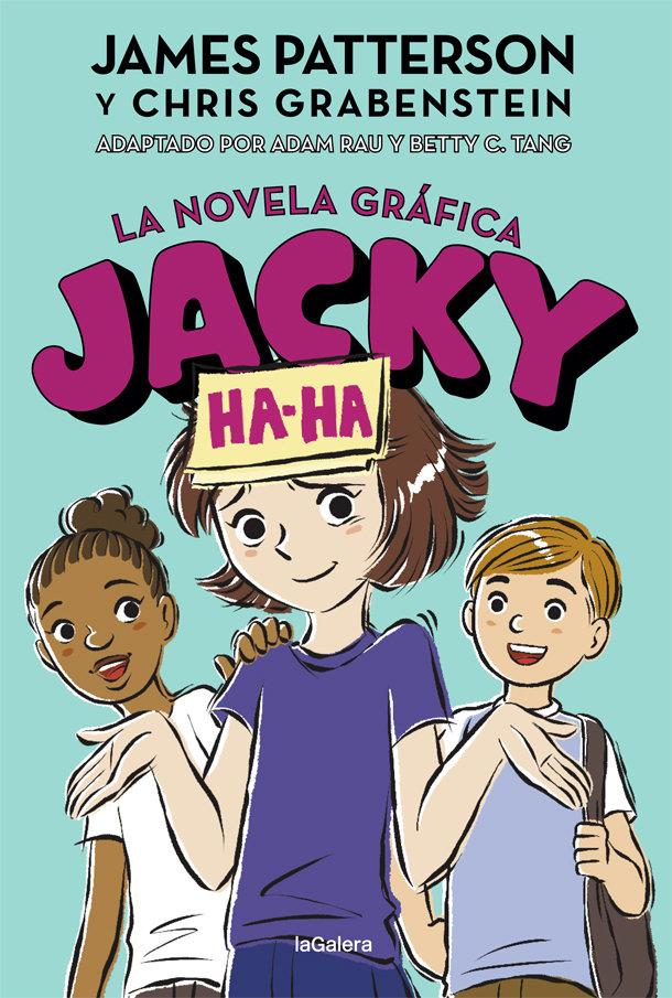 Jacky ha ha 3 la novela grafica