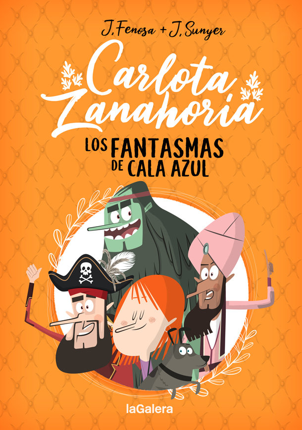 Carlota zanahoria 1 los fantasmas de cala