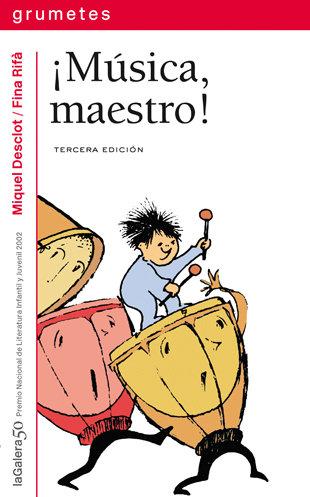 Musica maestro grumetes s.roja 8 años