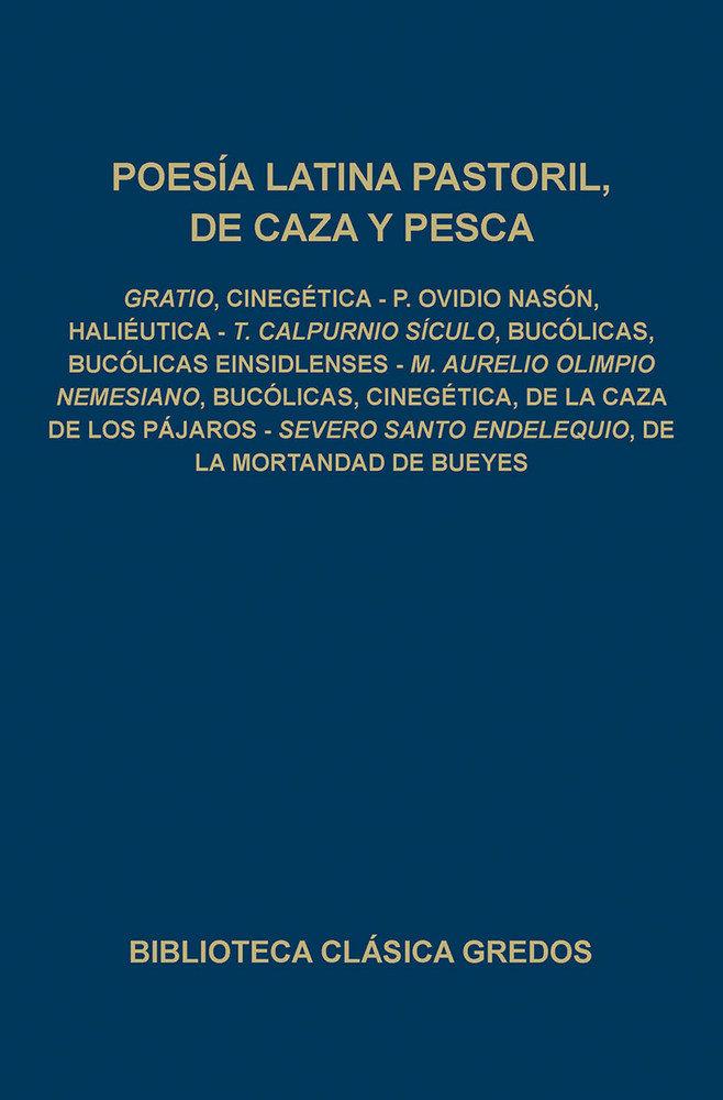 Poesia latina pastoril de caza y pesca