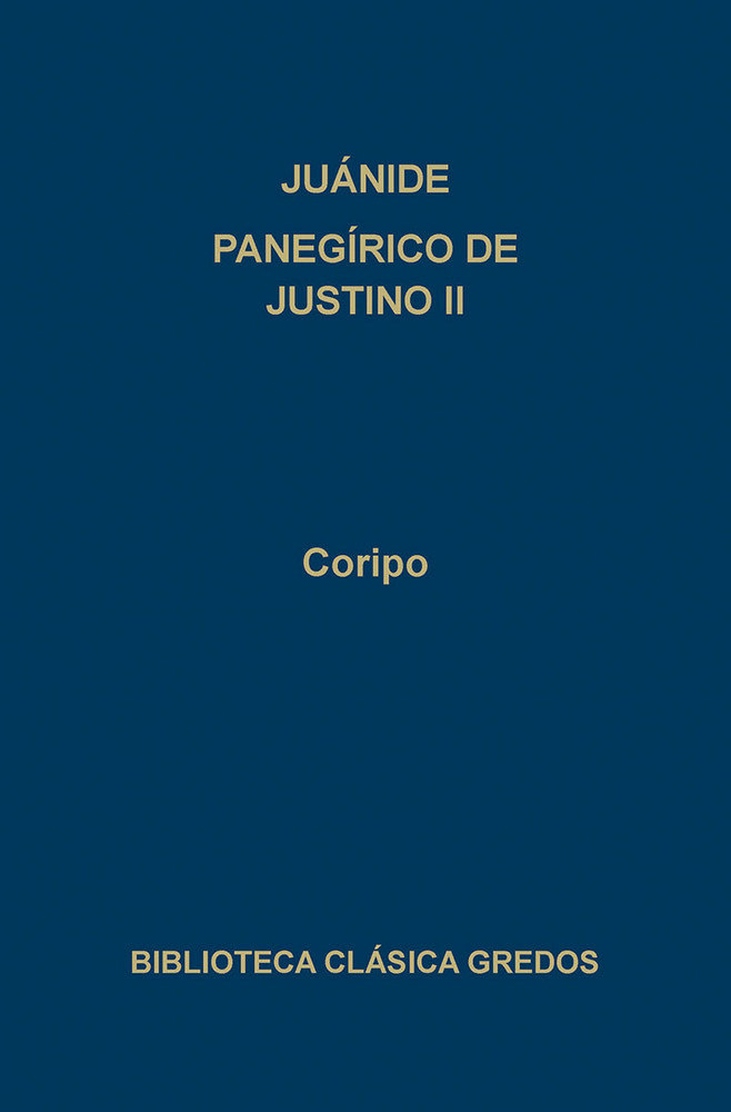 Juanide panegirico de justino ii bc
