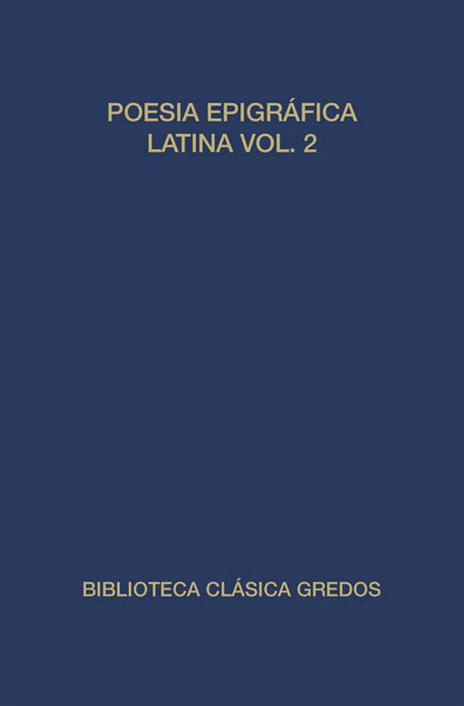 Poesia epigrafica latina ii