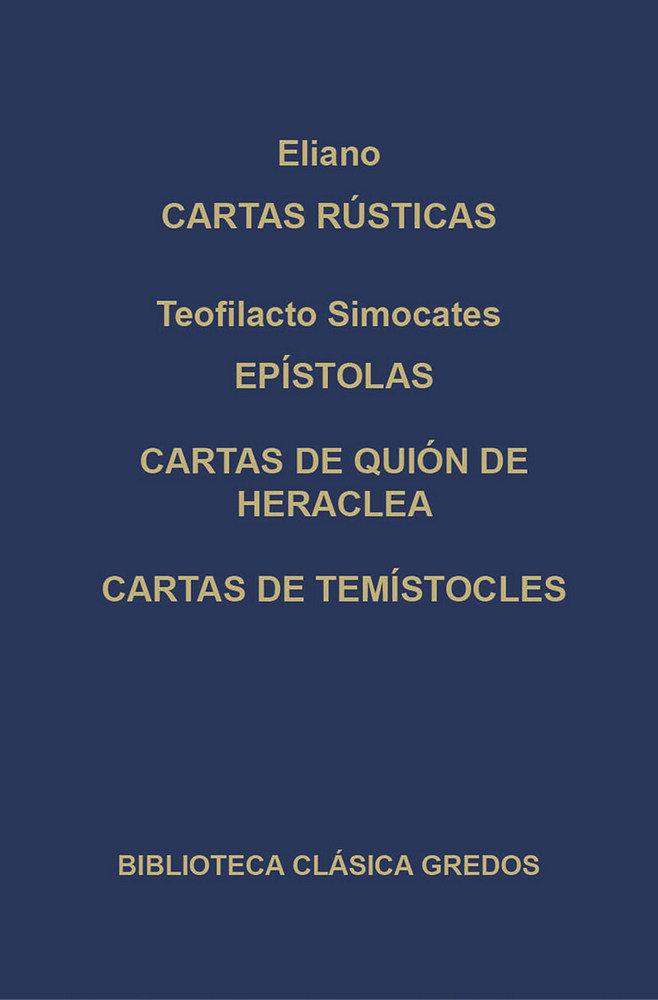 Cartas rusticas epistolas q.heraclea