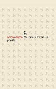 Materia y forma en poesia