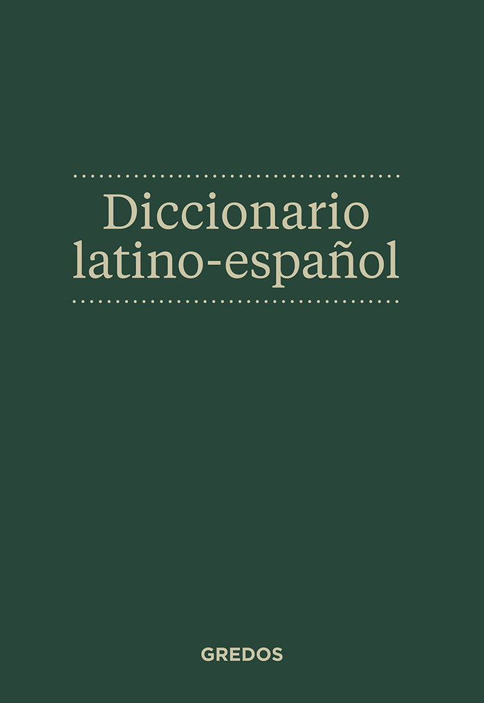 Dic.latino español