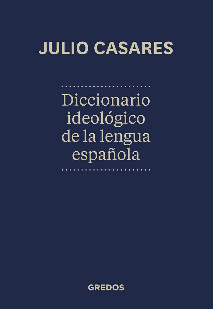 Dic.ideologico de la lengua española