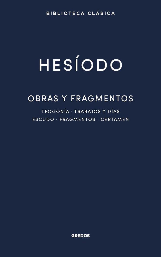 Hesiodo obras y fragmentos