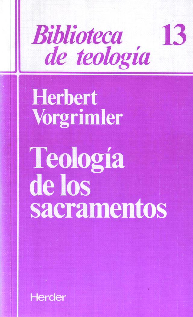 Teologia de sacramentos
