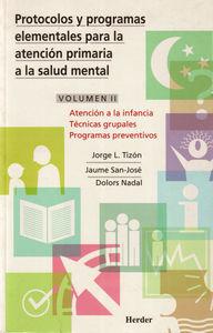 Protocolos y progr. elem. (vol. ii)