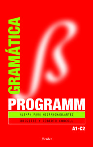 Programm gramatica aleman para hispanohablantes