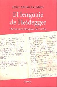 Lenguaje de heidegger,el