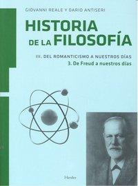 Ha. filosofia iii. vol iii del romanticismo a nuestros dias