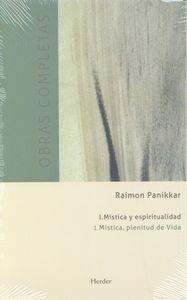Obras completas tomo i mistica y espiritualidad