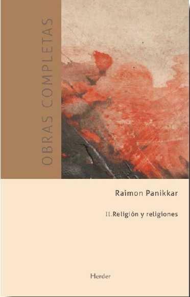 Obras completas ii religion y religiones