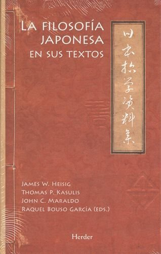 Filosofia japonesa en sus textos,la