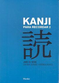 Japones kanji para recordar ii