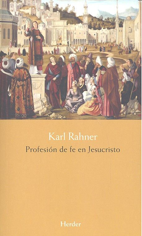 Profesion de fe en jesucristo