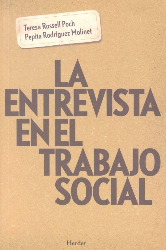 Entrevista en el trabajo social,la